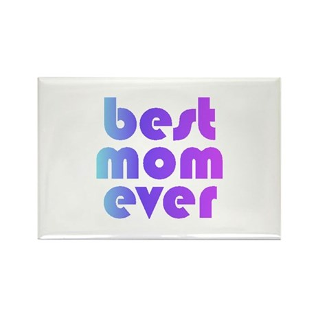mom - Rectangle Magnet