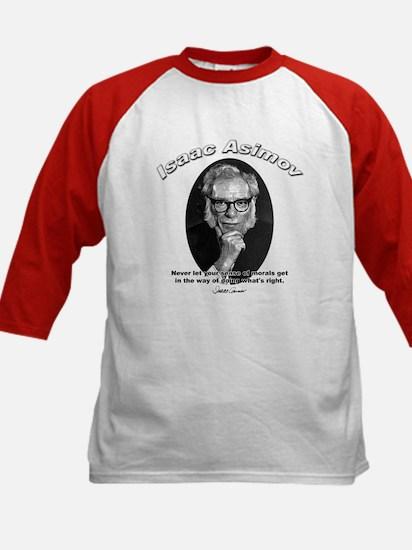 Isaac Asimov 02 Kids Baseball Jersey