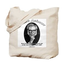 Isaac Asimov 02 Tote Bag