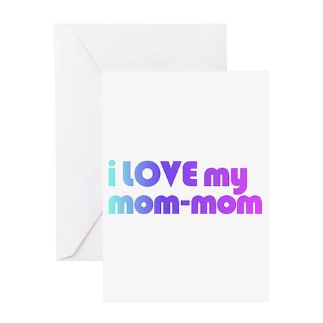 mom-mom - Greeting Card