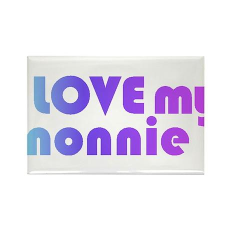 nonnie - Rectangle Magnet
