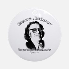 Isaac Asimov 03 Ornament (Round)
