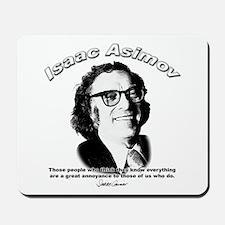 Isaac Asimov 03 Mousepad
