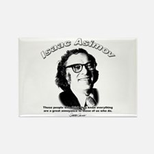Isaac Asimov 03 Rectangle Magnet