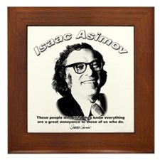 Isaac Asimov 03 Framed Tile