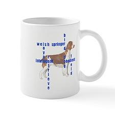 Welsh Springer spaniel Crossw Mug