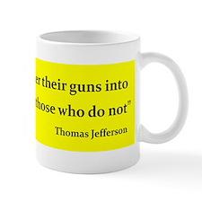 THOSE THAT HAMMER THEIR GUNS INTO PLOWS...