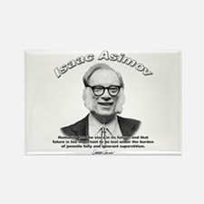 Isaac Asimov 05 Rectangle Magnet