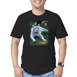 Cameron & Zabu Men's Fitted T-Shirt (dark)