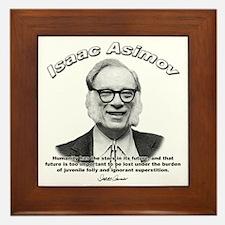 Isaac Asimov 05 Framed Tile