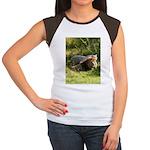Cameron & Zabu Women's Cap Sleeve T-Shirt