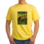 Cameron & Zabu Yellow T-Shirt