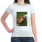 Cameron & Zabu Jr. Ringer T-Shirt