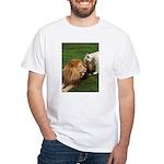 Cameron & Zabu White T-Shirt