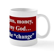 I'LL KEEP MY GUNS, MONEY FREEDOM AND MY GOD...