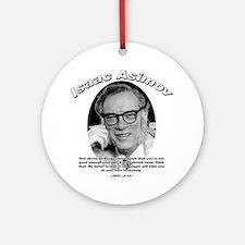 Isaac Asimov 06 Ornament (Round)