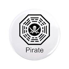 """Dharma Pirate 3.5"""" Button"""
