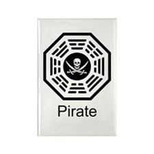 Dharma Pirate Rectangle Magnet (10 pack)
