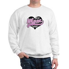 New Mom Twins Sweatshirt