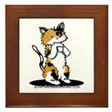 Cat lover Framed Tiles