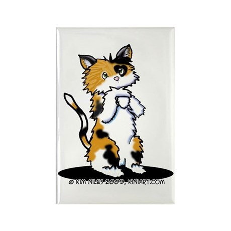 Calico Cutie Rectangle Magnet (10 pack)