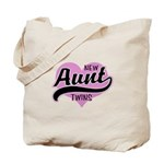 New Aunt Twins Tote Bag