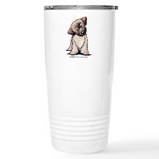 Curious Wheaten Puppy Travel Mug