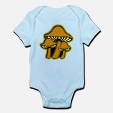 Yellow Mushrooms Infant Creeper