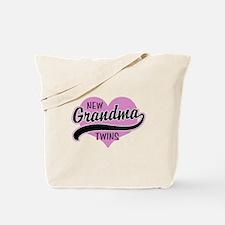 New Grandma Twins Tote Bag