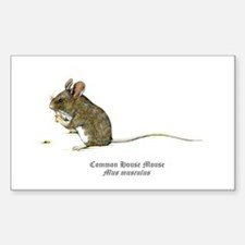 Mouse Sticker (Rectangle)