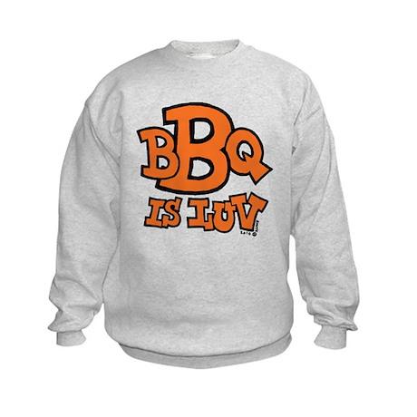 BBQ is Luv Kids Sweatshirt