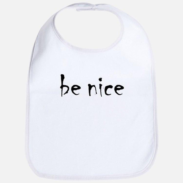 Be Nice Bib
