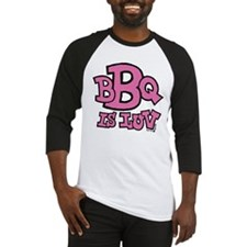 BBQ is Luv Baseball Jersey