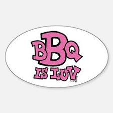 BBQ is Luv Decal