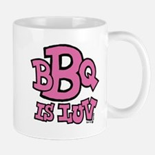 BBQ is Luv Small Small Mug