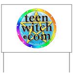 TeenWitch.com Yard Sign