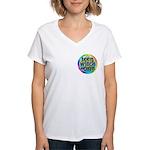 TeenWitch.com Women's V-Neck T-Shirt