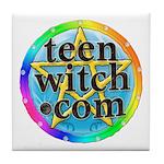 TeenWitch.com Tile Coaster