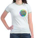 TeenWitch.com Jr. Ringer T-Shirt