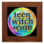 TeenWitch.com Framed Tile