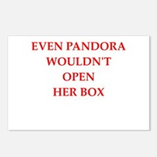 pandora Postcards (Package of 8)