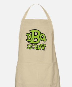 BBQ is Luv Apron