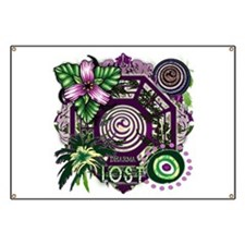 Lost TV Dharma Orchid Banner
