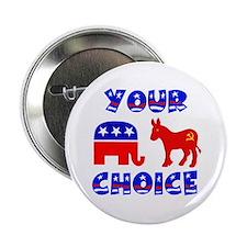 "ANYBODY BUT A DEMOCRAT ! - 2.25"" Button"