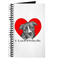 I Love Pitbulls Journal