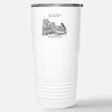 Save Wolves Travel Mug