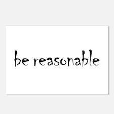 Be Reasonable Postcards (Package of 8)