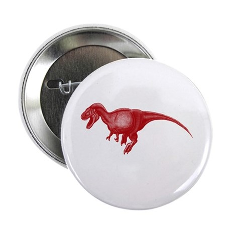 """red dino! 2.25"""" Button"""