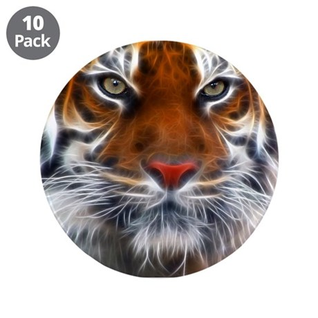 "Year of the Tiger 3.5"" Button (10 pack)"