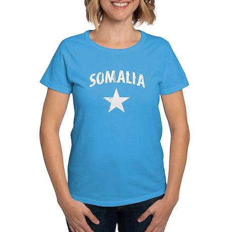 Somalia English Women's Dark T-Shirt
